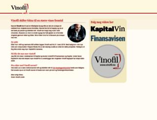 vinofil.no screenshot