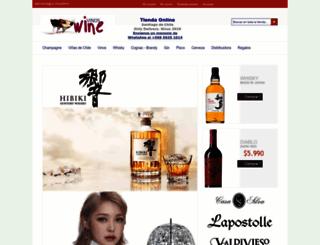 vinoswine.cl screenshot