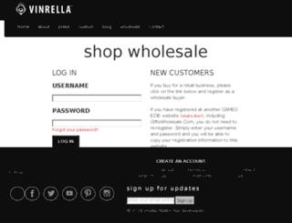 vinrella.cameoez.com screenshot