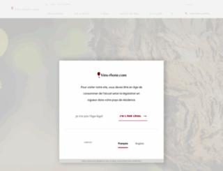 vins-rhone.com screenshot