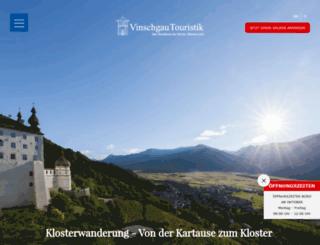 vinschgau-incoming.com screenshot