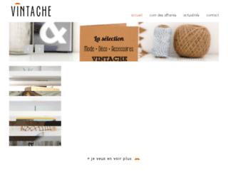 vintache.be screenshot