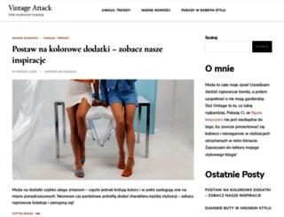 vintage-attack.com screenshot