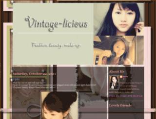 vintage-licious.blogspot.de screenshot