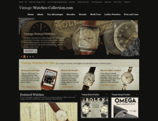 vintage-watches-collection.com screenshot