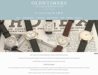 vintage-wristwatches.co.uk screenshot