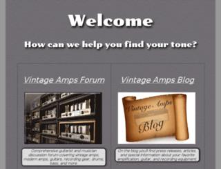 vintageamps.com screenshot