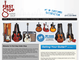 vintagecityguitars.com screenshot
