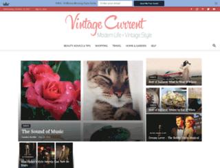 vintagecurrent.com.au screenshot