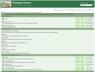 vintagegruen.org screenshot