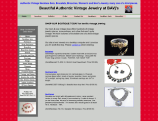 vintagejewelrybyteresa.com screenshot