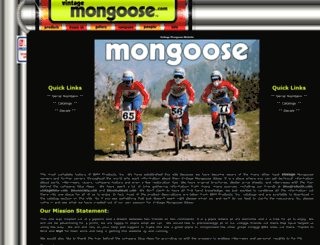 vintagemongoose.com screenshot