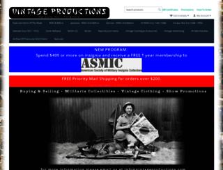 vintageproductions.com screenshot