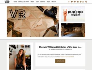 vintagerevivals.com screenshot