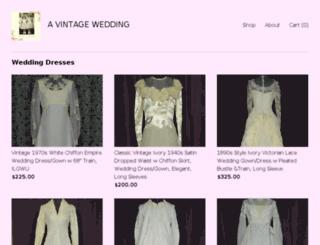 vintagewedding.com screenshot