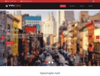 vintec.co.rs screenshot
