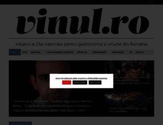 vinul.ro screenshot
