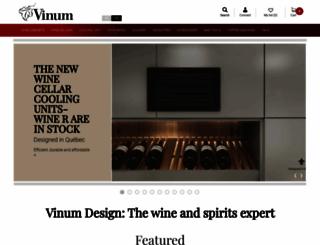 vinumdesign.com screenshot