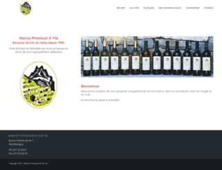 vinvalais.com screenshot