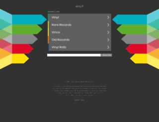 viny.fr screenshot