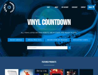 vinylcountdown.co.nz screenshot
