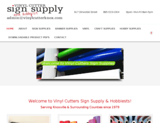 vinylcutterknox.com screenshot