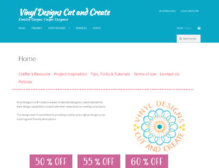 vinyldesignscutandcreate.com screenshot