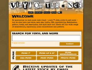 vinylonthe.net screenshot