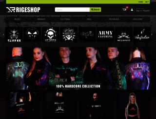 vinylshop.com screenshot