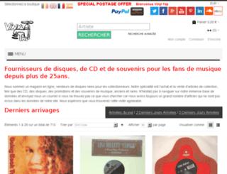 vinyltap.fr screenshot