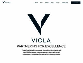 viola-group.com screenshot
