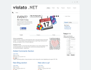 violato.net screenshot