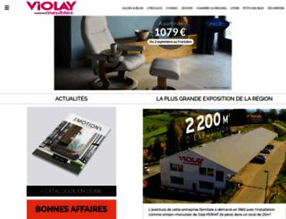 violaymeubles.com screenshot