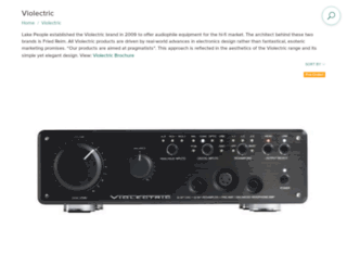 violectric-usa.com screenshot