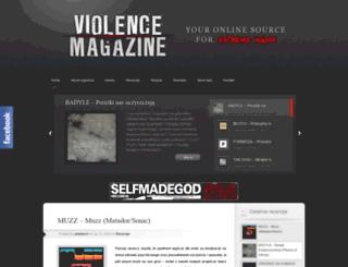 violence-online.pl screenshot