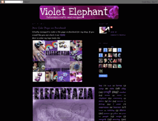 violetelephant.blogspot.com screenshot