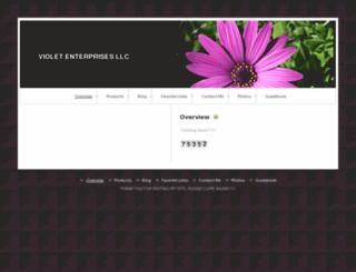 violetenterprisesllc.com screenshot