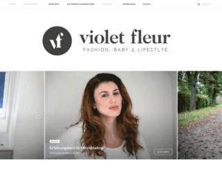violetfleur.com screenshot