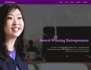 violetlim.com screenshot