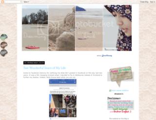 violetredbubbles.blogspot.com screenshot