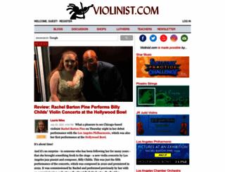 violinist.com screenshot