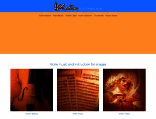 violinonline.com screenshot