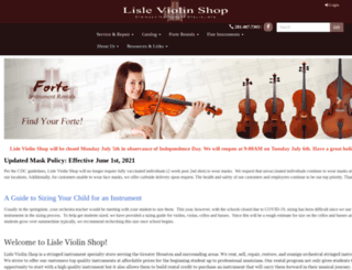 violins.com screenshot