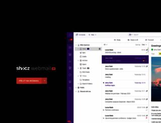 vip-mail.superhosting.cz screenshot
