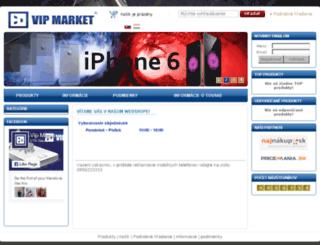 vip-market.sk screenshot