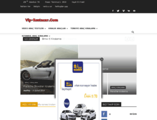 vip-rentacar.com screenshot