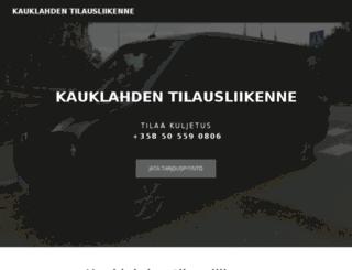vip-taksibussi.fi screenshot