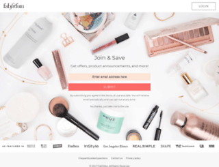 vip.fabfitfun.com screenshot