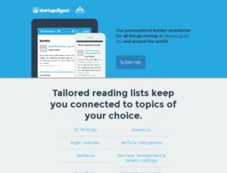 vip.startupdigest.com screenshot