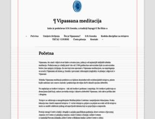 vipassana4hrvatska.wordpress.com screenshot